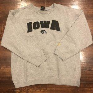 SUPER COZYVintage Iowa Football Starter Crewneck L